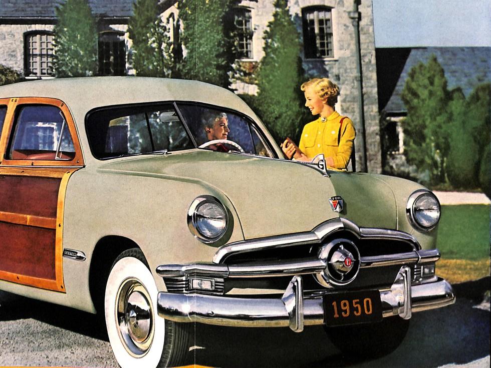 1950 Ford Crestliner ad