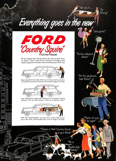 A look at the 1950 Ford Country Squire