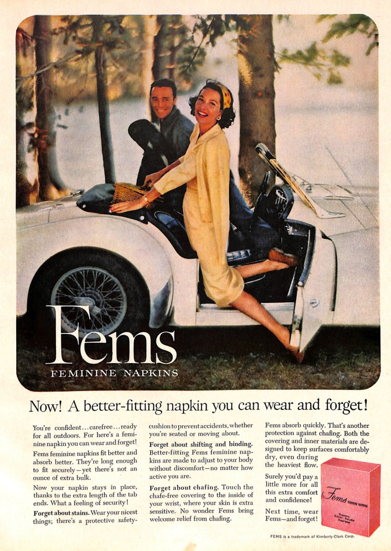 Mid-century couple in sports car