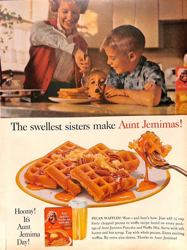 Big sister ad for Aunt Jemima