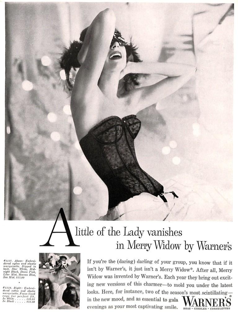 1957 Warner's Bra Ad