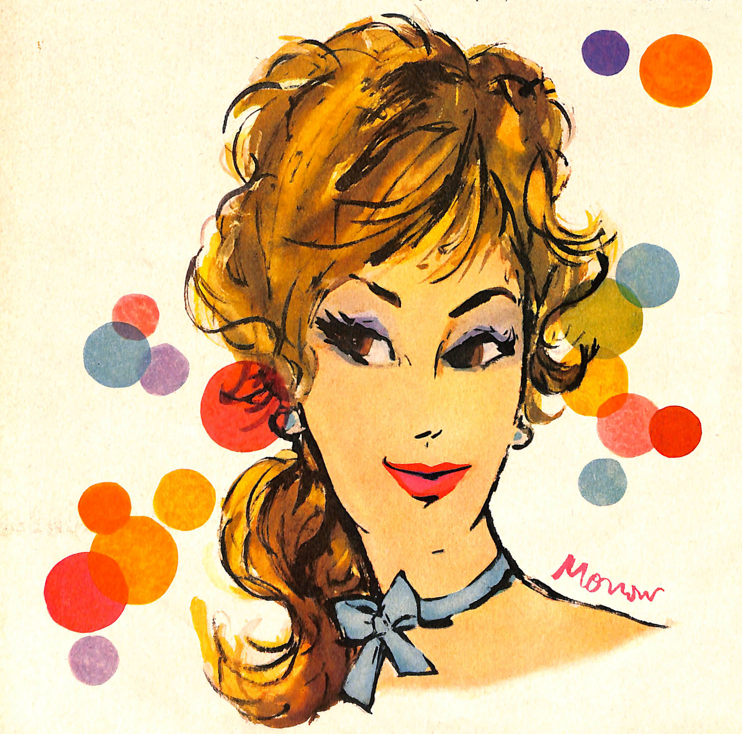 1960 Tussy Illustration by Tom Morrow