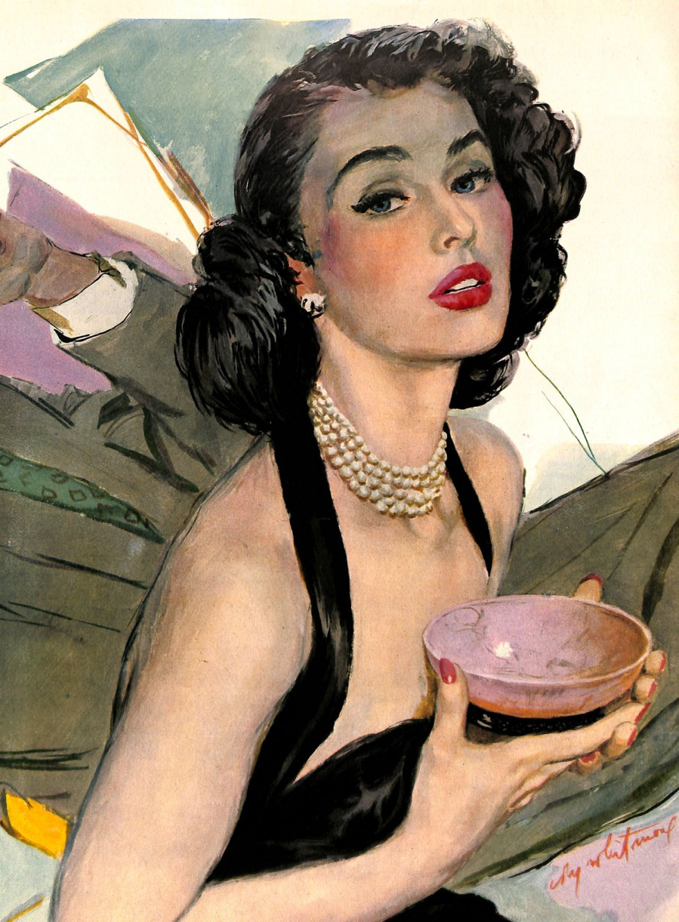 Glamorous Woman by Coby Whitmore