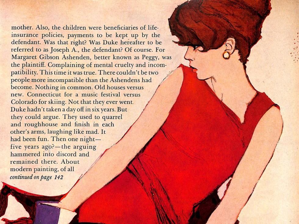 Al Parker Illustration 1961