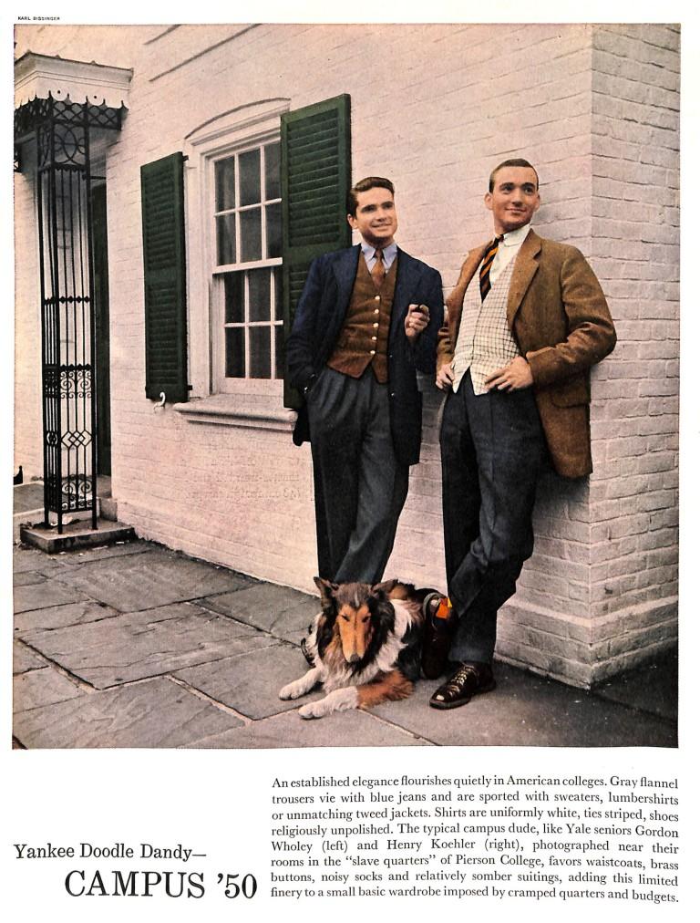 1950 Men's Fashions