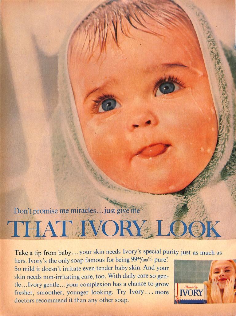 1957 Ivory Soap Ad