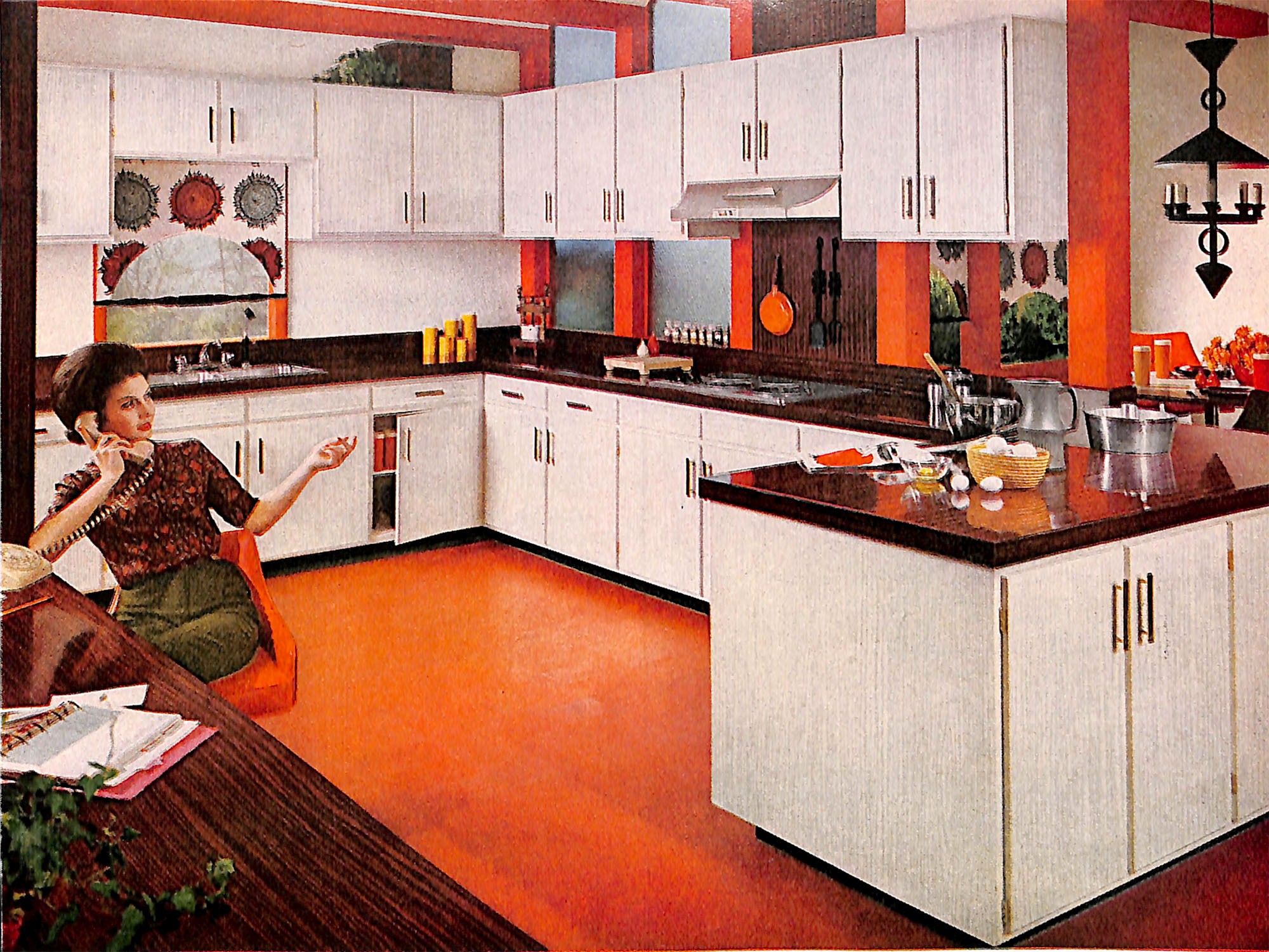 1963 Formica Kitchen Ad