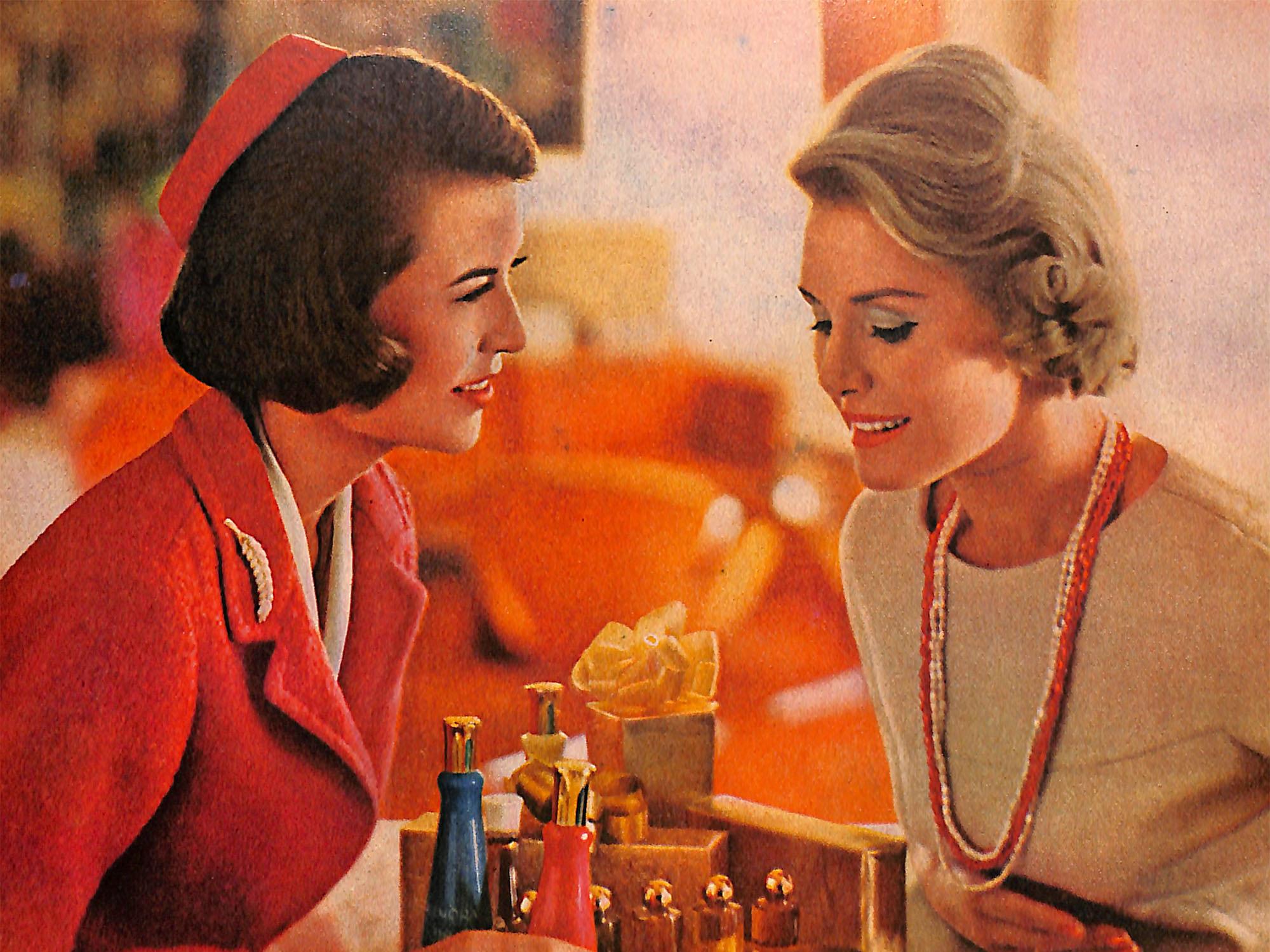 1963 Hollywood cosmetics