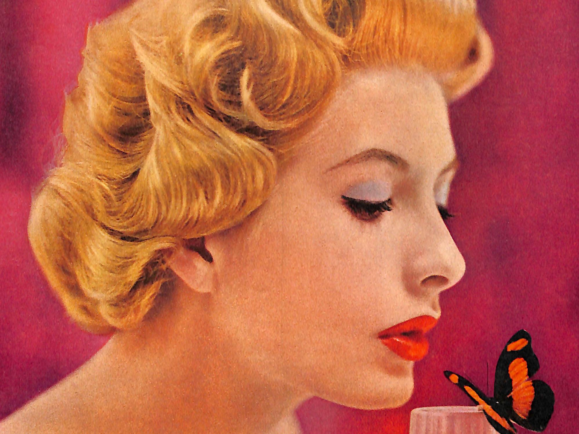 1957 Max Factor Ad