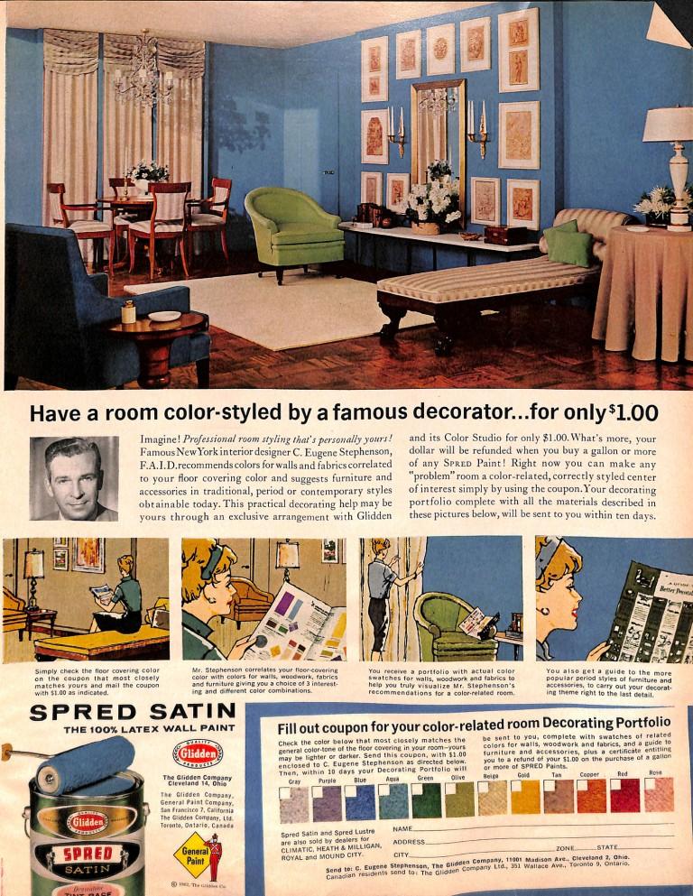 1962 Paint Ad