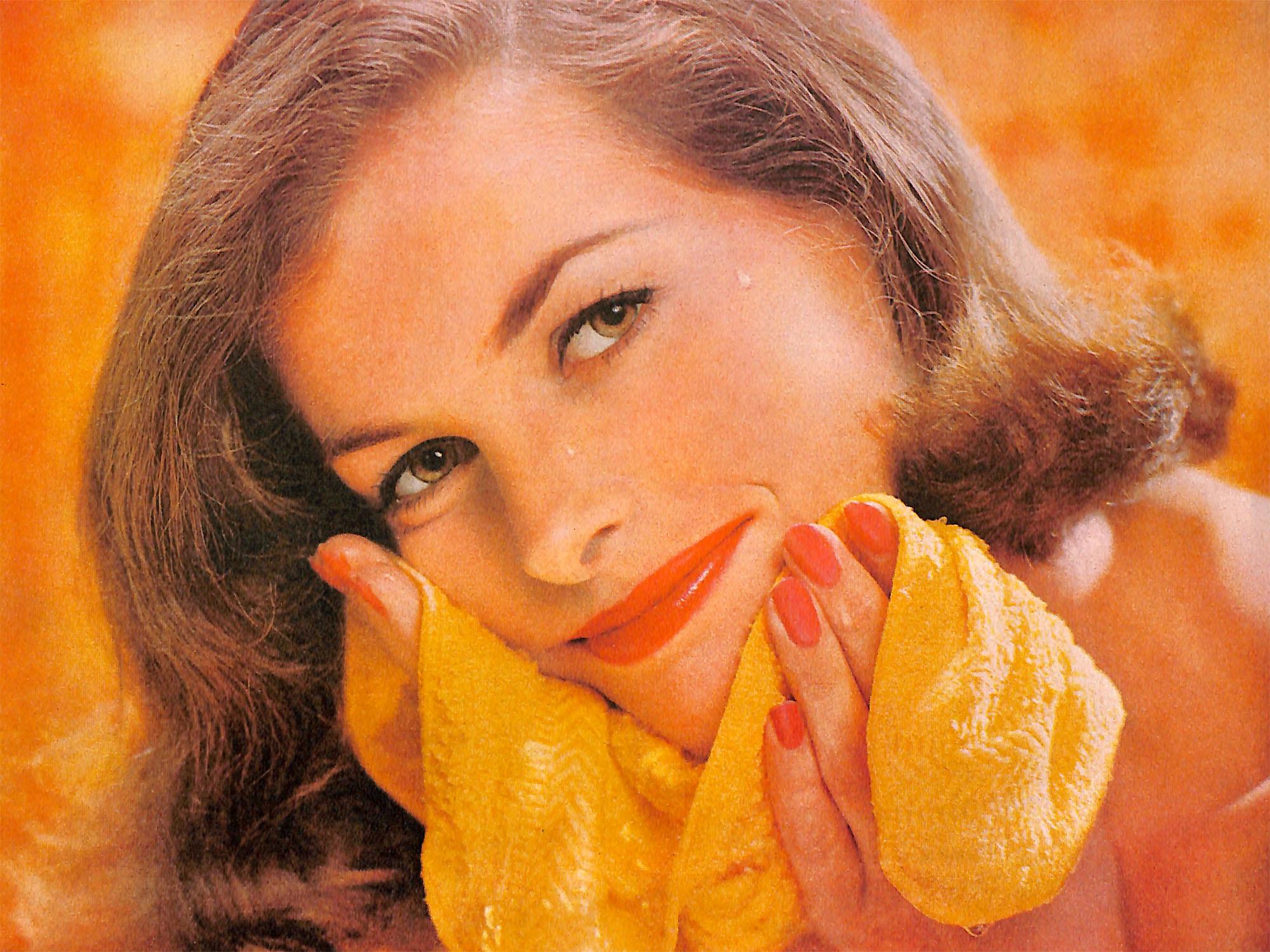 Vintage Beauty Ad for Noxzema