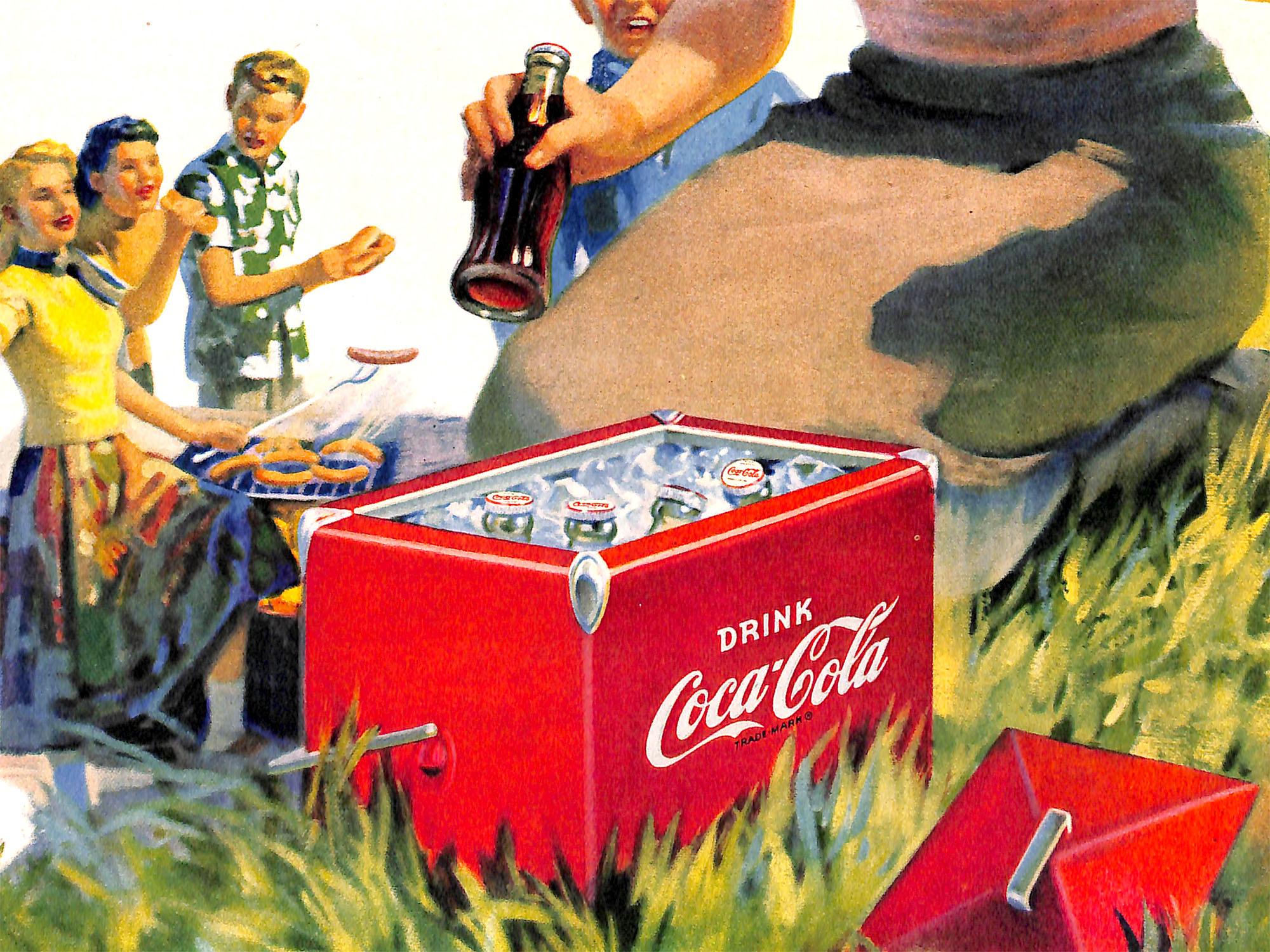 1952 Coca Cola Ad