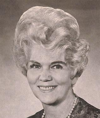 Mid-century grandma hairdo