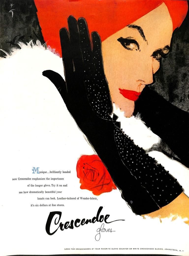 1959 Fashion Illustration