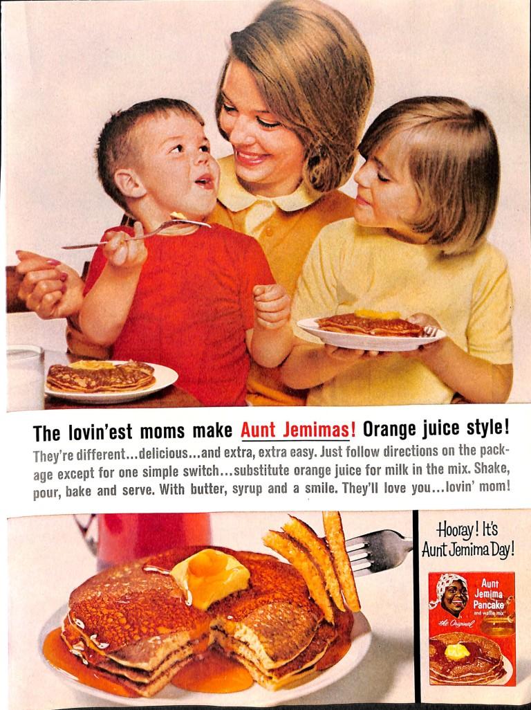 1963 Aunt Jemima Ad