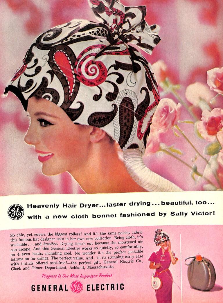 Vintage Hairdryer Ad