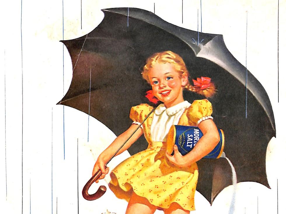 1952 Morton Salt illustration
