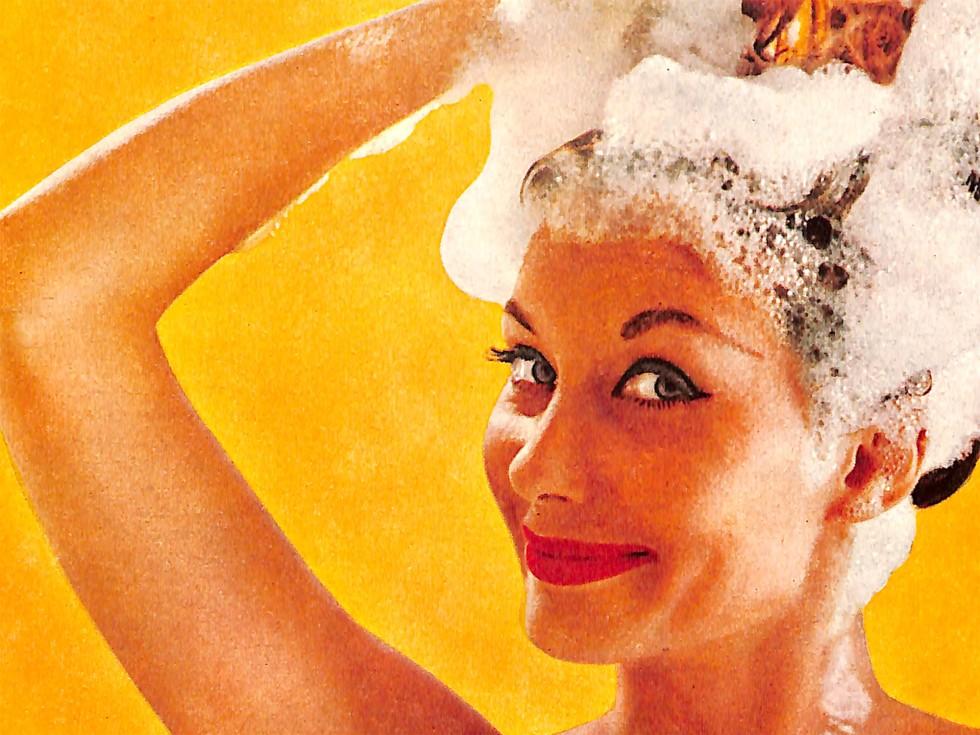 Helene Curtis Dandruff Shampoo Ad
