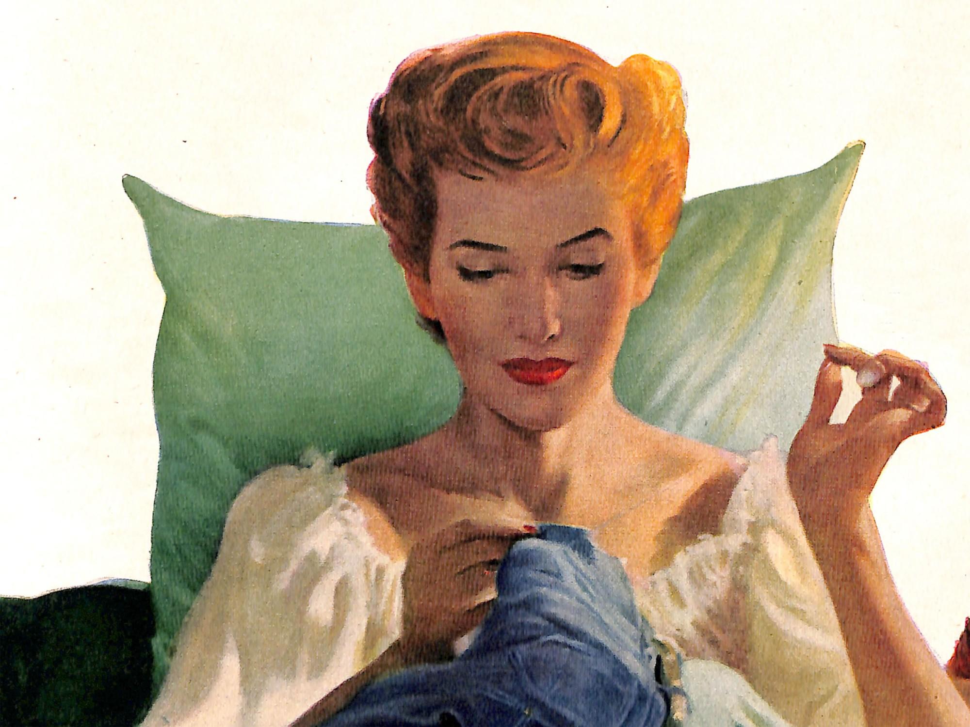1952 Illustration by Robert Harris