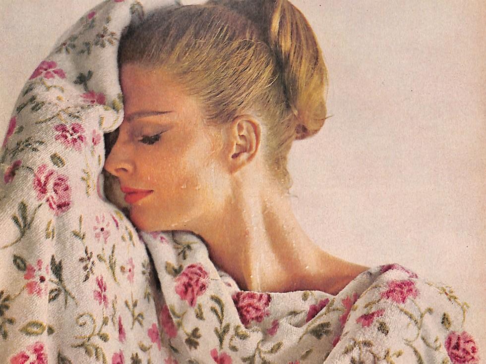 1963 Martex Towel Ad