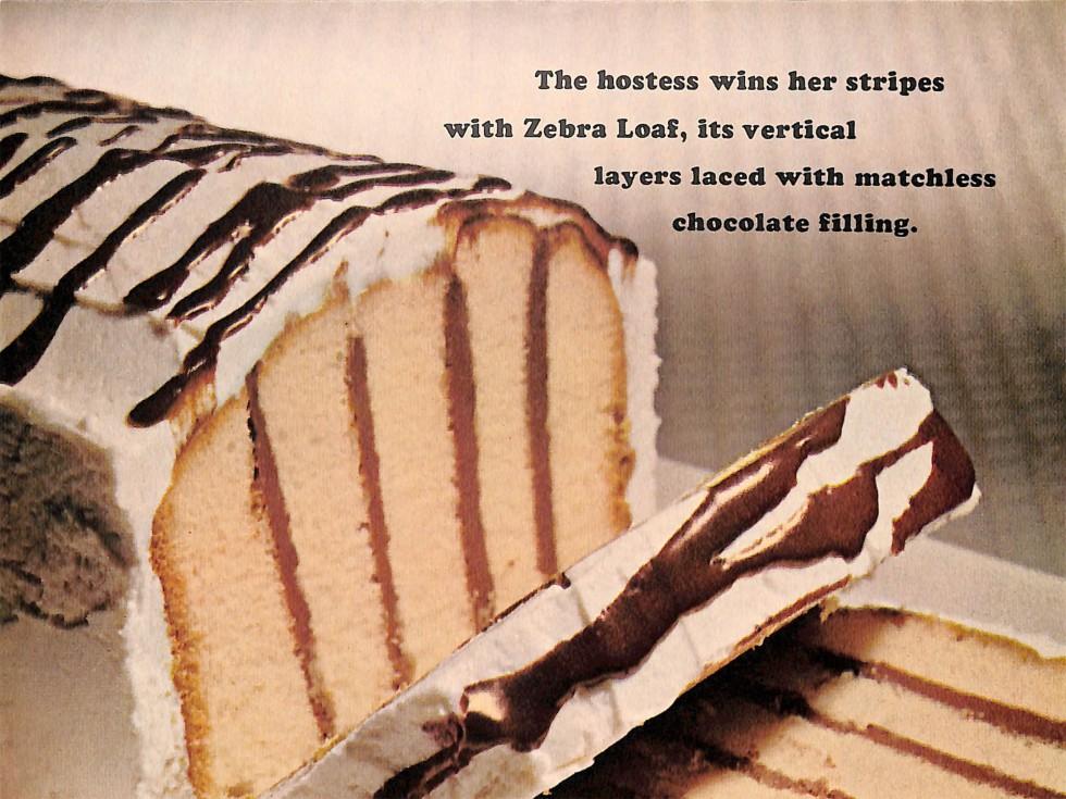 Zebra Loaf Cake